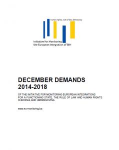 december demands first page